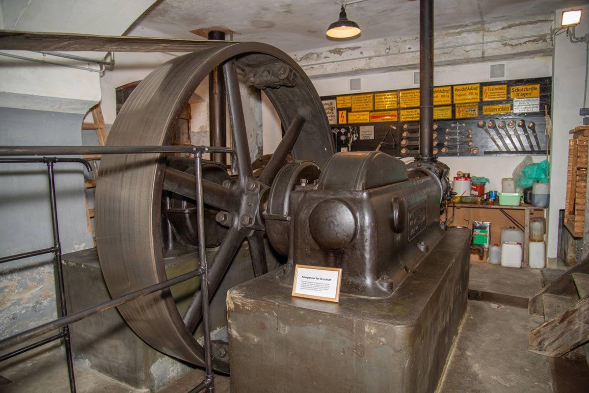 Stromerzeugung Goldbergbau