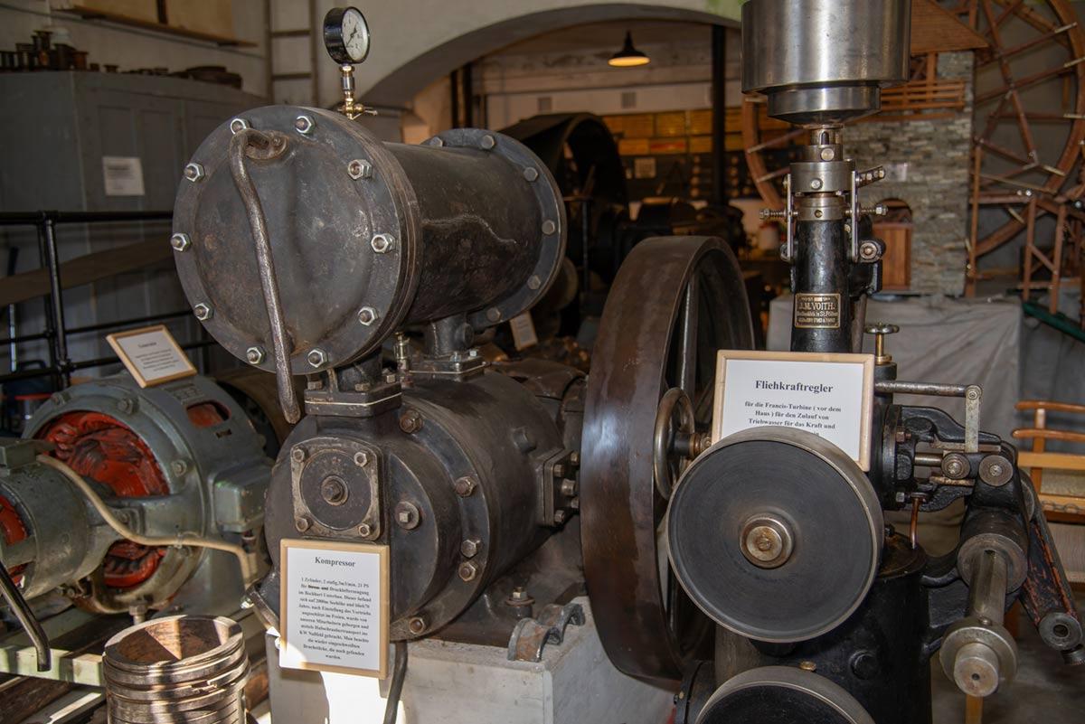 Stromerzeugung für den Goldbergbau